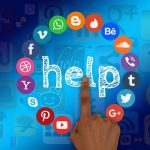 social media, help, support