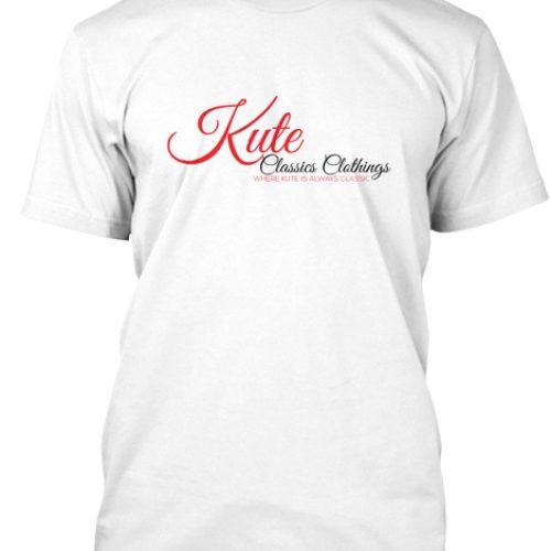 Kute Classics Clothing Branded White tee