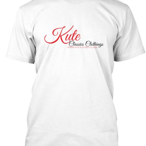 Kute Classics Clothing Branded White tee